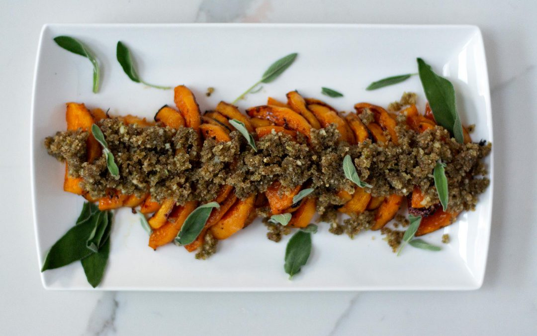 Roasted Butternut Squash & Sage Pesto