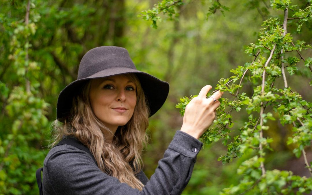 Foraging with Carmelle LeMaistre