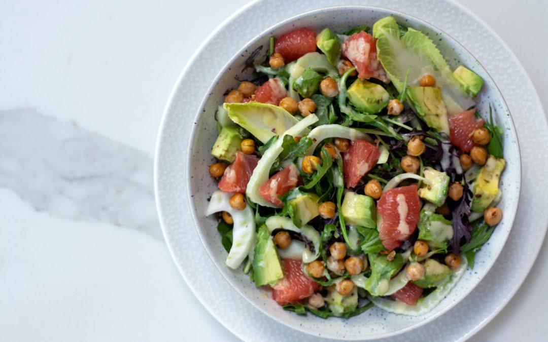 Grapefruit and Fennel Salad