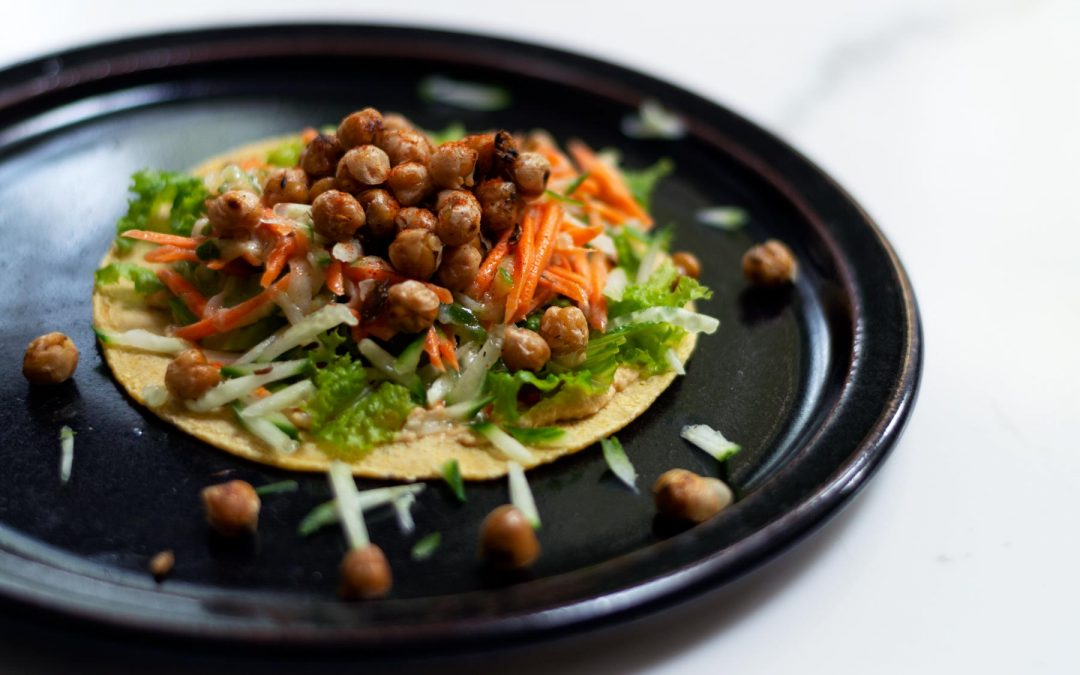 Fennel & Thyme Chickpea Wraps