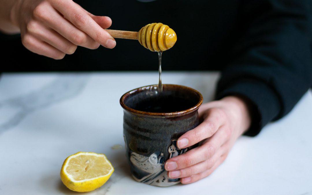 Thyme Infused Honey, Lemon & Ginger Tea