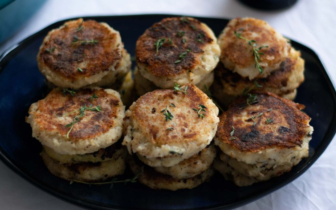 Fish cakes with Escovitch