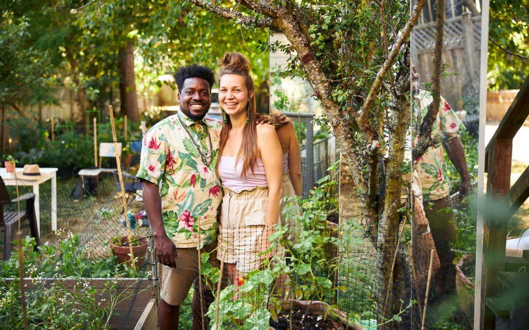 Gardening with Ariel & Jess