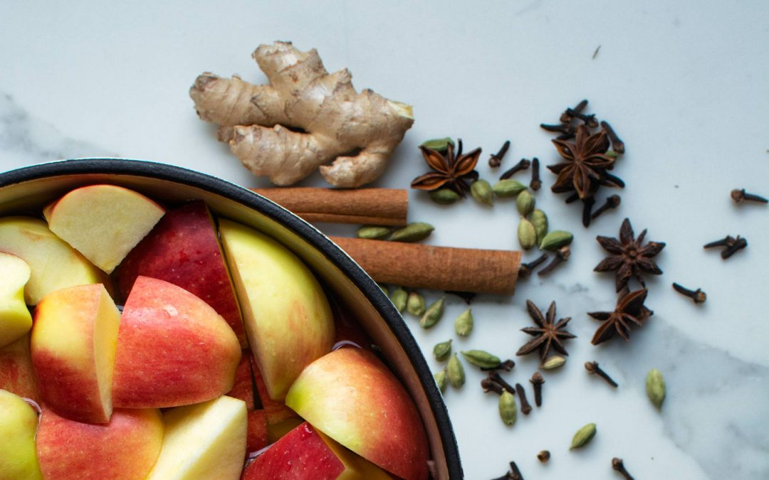 Hot Apple Cider with Warming Spices