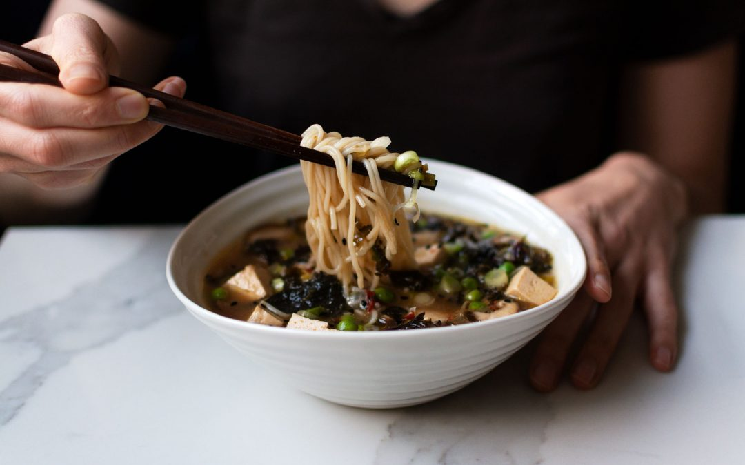 Hot and Sour Miso Shiitake Soup